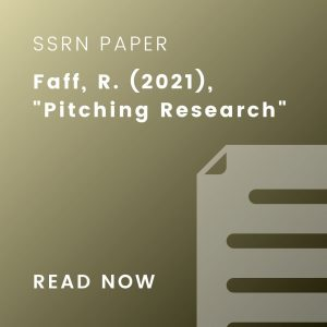 Pitching research article