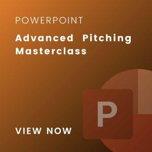 advanced pitching masterclass slides