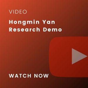 hongmin yan research demo demo video