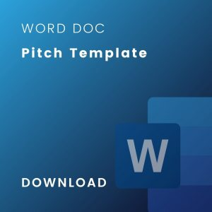 master pitch template doc