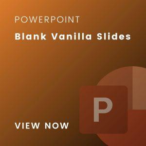 vanilla slides