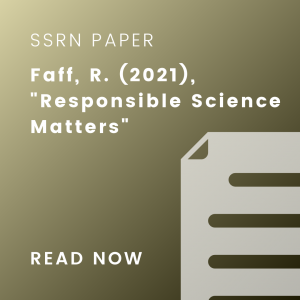 responsible science matters ssrn cover